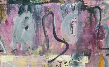 Nr. 13 blümerant 2017 Öl a. Lw. 55 x 88 cm