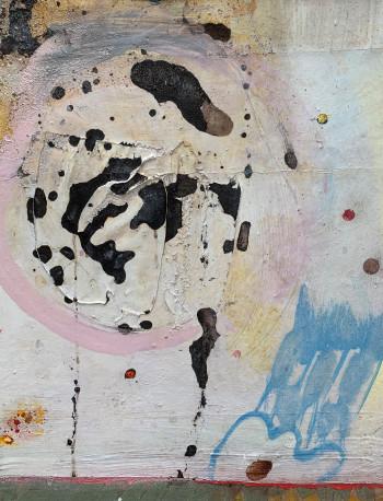 Nr. 17 Die Unschuldsbadenden 2019 Mischt. a. Lw. 55 x 44 cm
