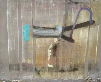 Nr. 10 Vom Freilegen 2014 Mischt. a. Lw. 44 x 55 cm