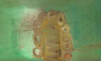 Nr. 12 Neigungsschmunzler 2007 Öl a. Lw. 55 x 88 cm