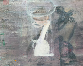 Nr. 4 Vorsehungsversehen 2013 Öl a. Lw. 44 x 55 cm