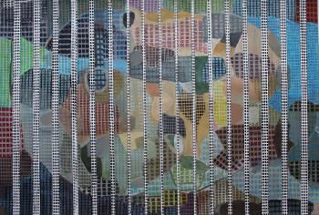 Nr. 18 Quanträume 2015 Mischt. a. Pap. 30 x 40 cm