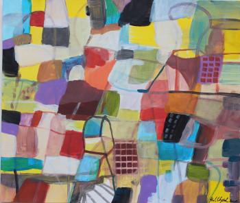 Nr. 42 Kleines Haus 2020 Acryl a. Pap. 25 x 30 cm