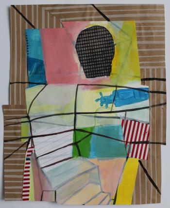 Nr. 37 Wahrnehmung 2021 Mischt. a. Lw. 37 x 30,5 cm