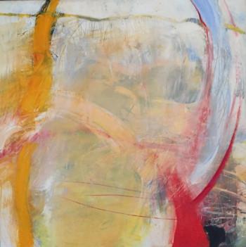Nr. 5 Farben der Erinnerung 2006  114 x 115  cm