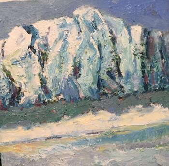 Nr. 7 Am Fjord 50 x 60 cm Öl a. Lw.