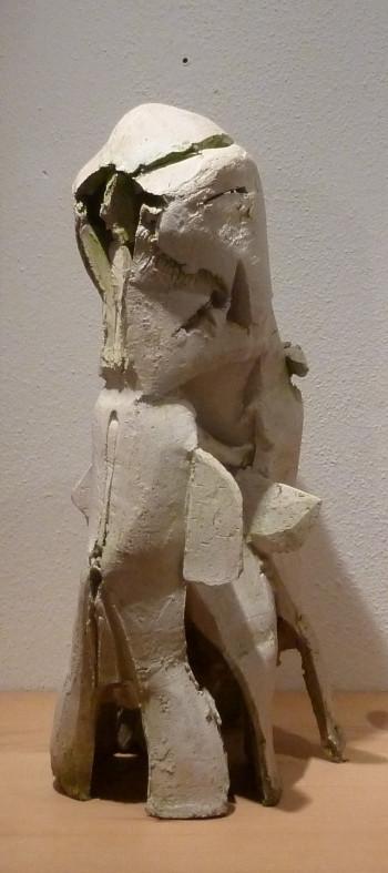 Nr. 5 Skulptur Kopf Terracotta