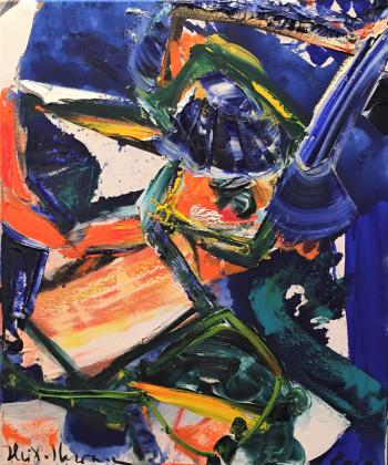 Nr. 17 Disperados 2020 Öl a. Lw. 60 x 50 cm