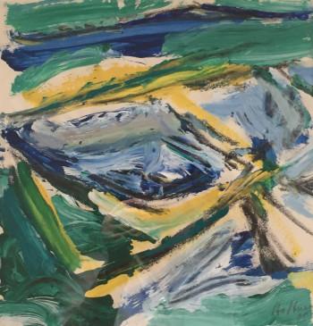 Nr. 23 Nr.144 Mischt. a. Pap. ca. 30 x 30 cm