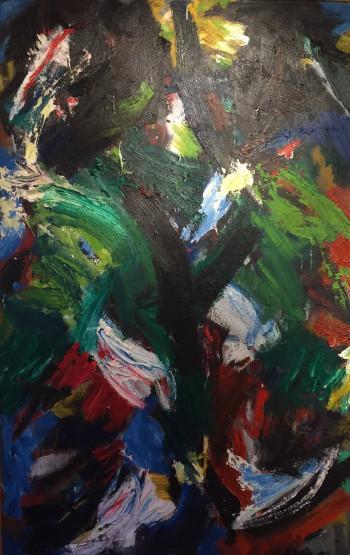 Nr. 16 Nr.104 o.T. 2003  164 x 100 cm