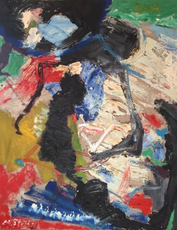 Nr. 4 Nr.6 Öl-Lw. 100 x 80 cm ca. 1999-2000 sign. nummeriert rücks. HS 3034