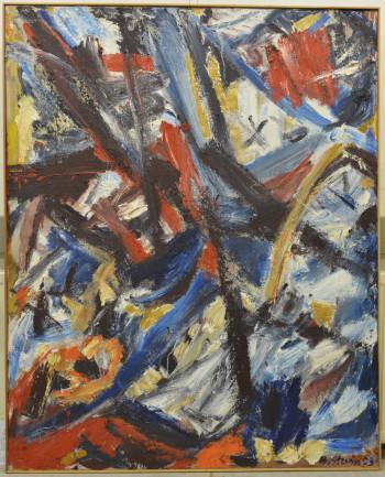 Nr. 42 HS-1333-2003 Öl a. Lw. 155 x 124 cm