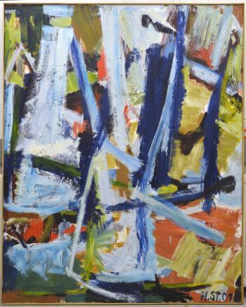 Nr. 45 HS-1337- 2001-04 Öl a. Lw. 155 x 125 cm