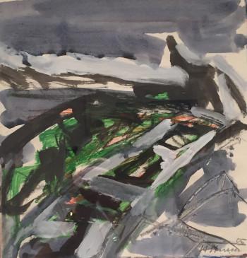 Nr. 30 Nr.228 Mischt. a. Pap. ca. 30 x 30 cm