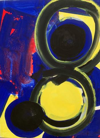 Nr. 5 o.T. Nr. 572  2002  80 x 60 cm