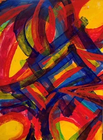 Nr. 1 o.T. Nr. 568  2008  80 x 60 cm
