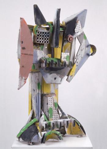 Nr. 30 Große Büste IV 2009 versch. Mat. bemalt 110 x 65 x 40 cm