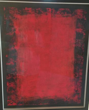 Nr. 8 Pigmentbild a. Bütten rot