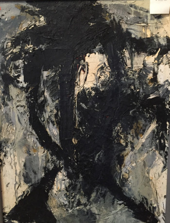 Nr. 23 Mokum I  1985 Öl Hartfaser 85 x 65 cm